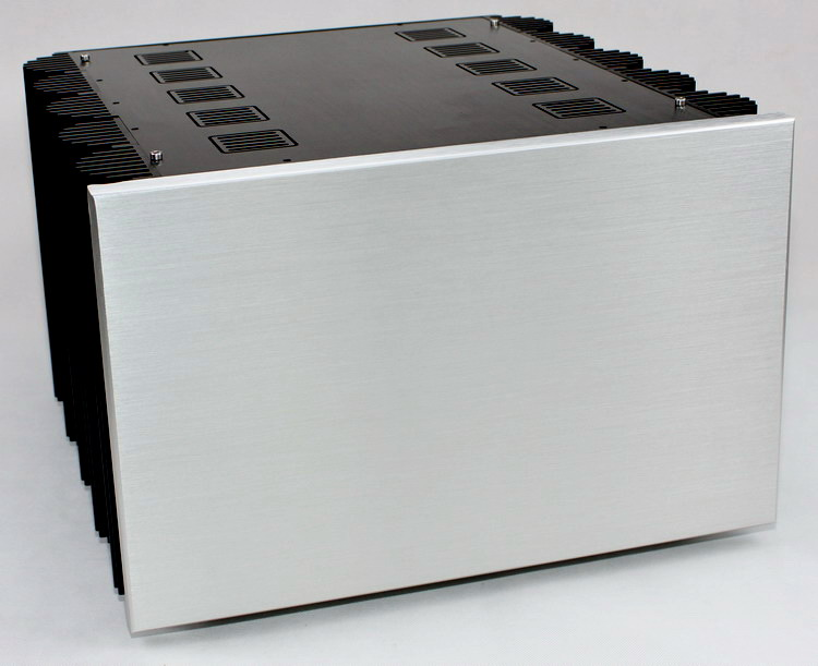 C-016 QUEENWANY audio WA80 CNC full aluminum chassis class amp power amplifier case box 425mm*407mm*260mm 425*407*260mm queenway audio 2215 cnc full aluminum amplifier case amp chassis box 221 5mm150mm 311mm 221 5 150 311mm