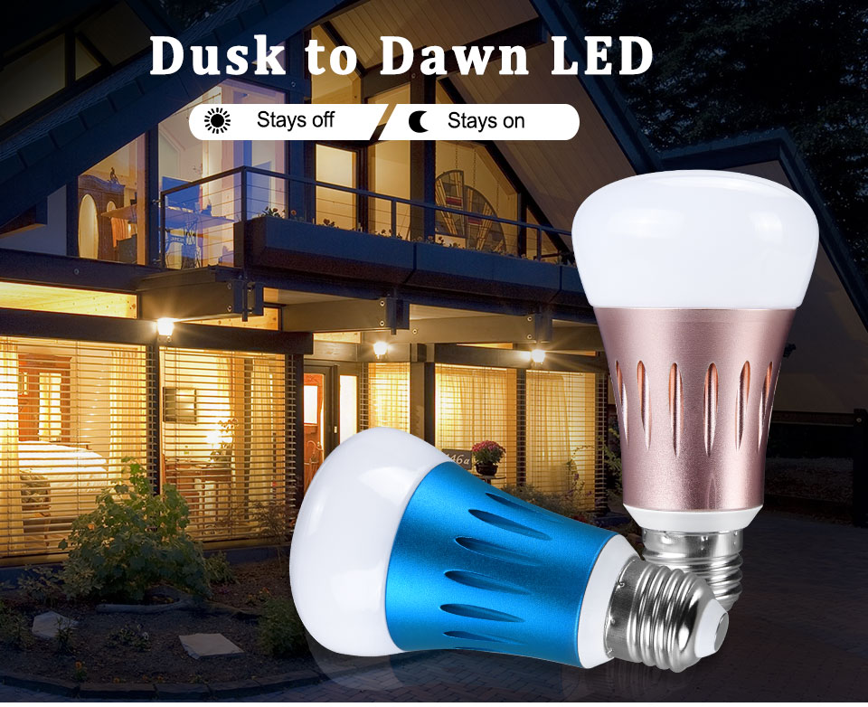 LED PIR Sensor Bulb E27 15W AC 220V 110V Dusk To Dawn Light Bulb Day Night Light Motion Sensor Lamp For Home Garage Lighting (1)