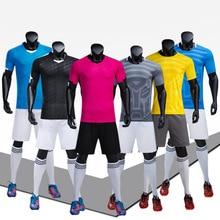 Футбольные Jerseys Professional Iceland Jersey 2018 Custom Adult Soccer Set Uniforms Kids Breathable Футбольная рубашка Спортивный костюм