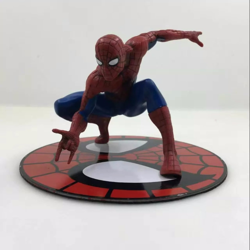 Free Shipping 5 Spiderman The Amazing Spider-man 1/10 Scale ARTFX Magnetic Bag Pack PVC Action Figure Collection Model Toy Gift free shipping super big size 12 super mario with star action figure display collection model toy