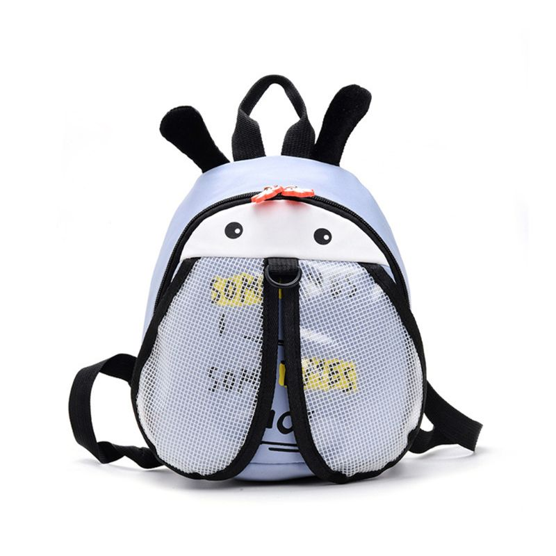 Cartoon Bee Anti-Lost Backpack Baby Safety Walking Harness Leash School Bag For Child Kid Toddler