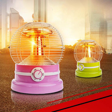 2017 Newest ! Tip-Over Protection Halogen Electric Heater 220V 500W/900W for Bedroom Living Room