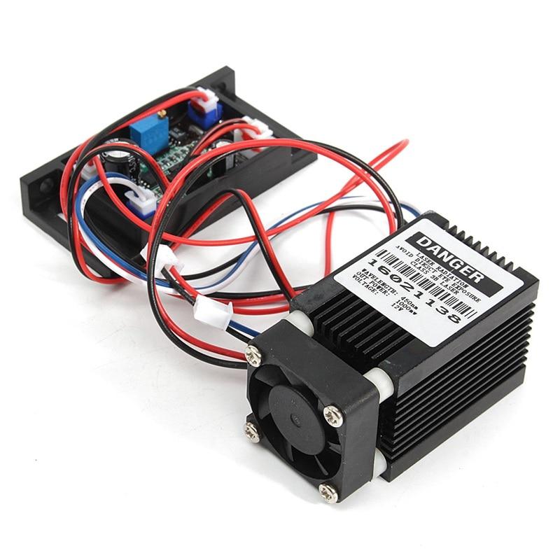 12V Laser Module 450nm 1000mW~1200mW TTL Outer Driver CNC Cutter Engraving Wood Router Engraver Machine Accessories. фонарь ferei w158b
