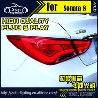 AKD Car Styling Tail Lamp For Hyundai Sonata Tail Lights LED Tail Light LED Signal LED