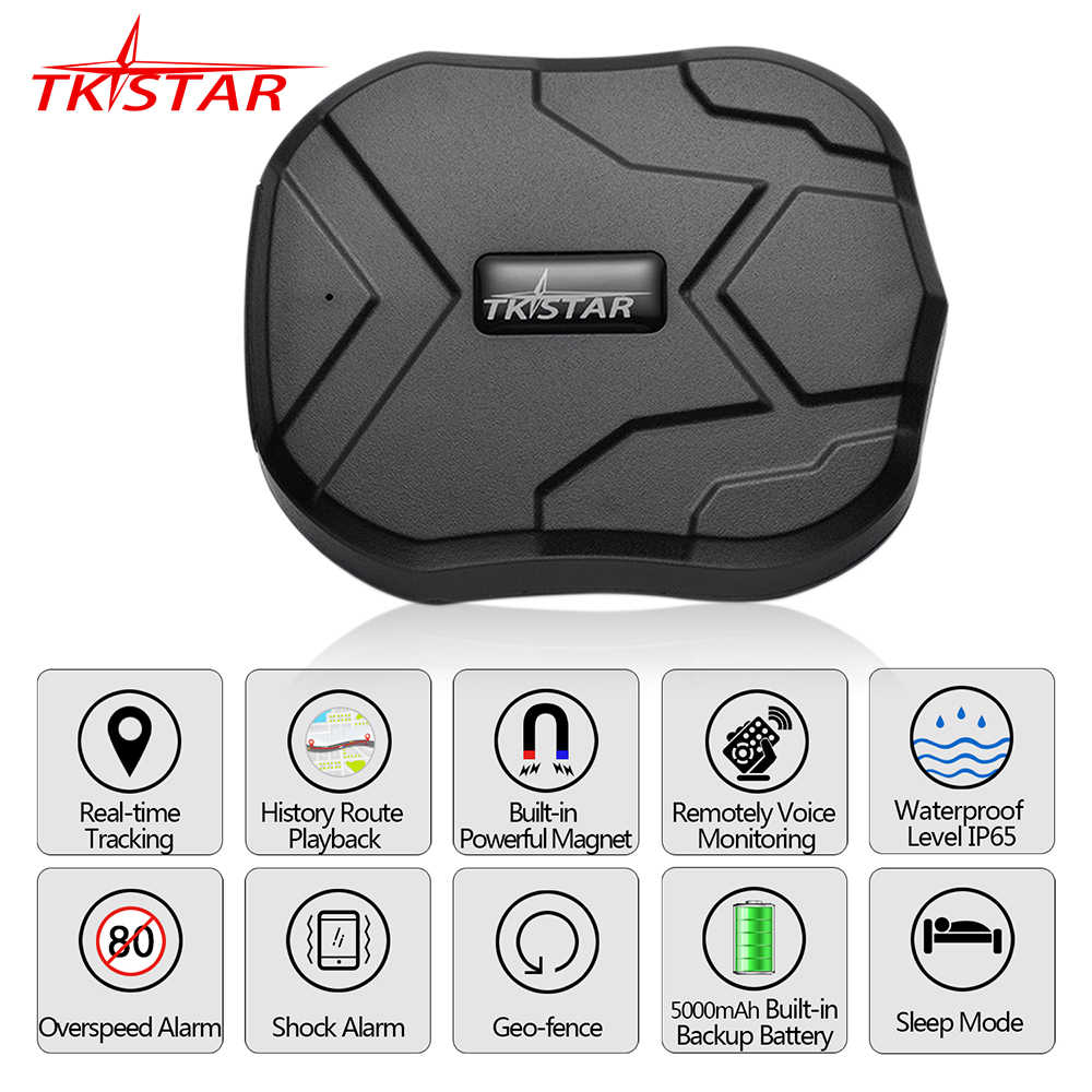 GPS Tracker Car TKSTAR TK905 5000mAh 90 Days Standby 2G Vehicle Tracker GPS Locator Waterproof Magnet Voice Monitor Free Web APP