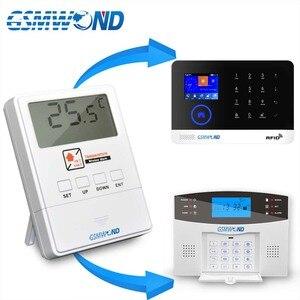 Image 2 - GSMWOND Detector de temperatura inalámbrico, Sensor de alarma de 433MHz, compatible con Alarma de alta y baja temperatura para nuestro sistema de alarma de casa