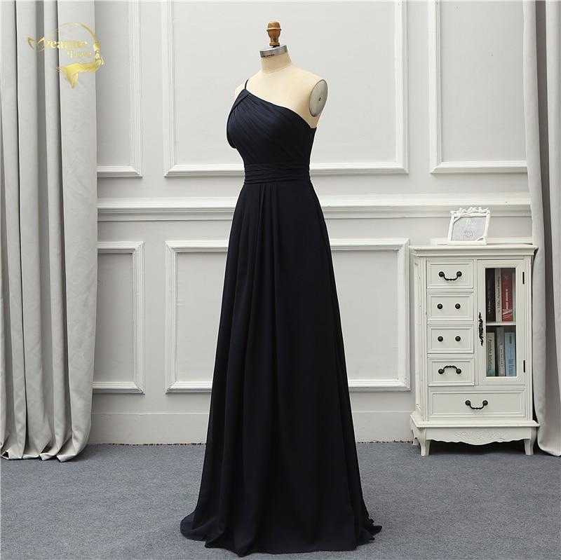 Jeanne Love Formal Luxury Evening Dress New Arrival Black One Shoulder Party Robe De Soiree Vestido De Festa OL5221 Prom Gowns 4