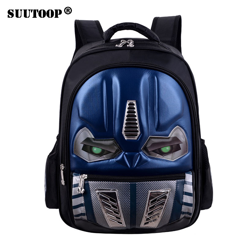 a21d3ca44e2f 2018 New Arrival Kids School bag Waterproof Orthopedic Cartoon Backpack  Glowing Children Elementary School Backpacks For