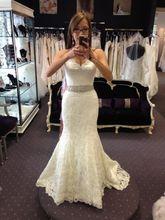 Romantic Sexy Sweetheart Sleeveless With Beading Sash Long bridal White Lace Mermaid 2018 Vestido De Casamento bridesmaid dress