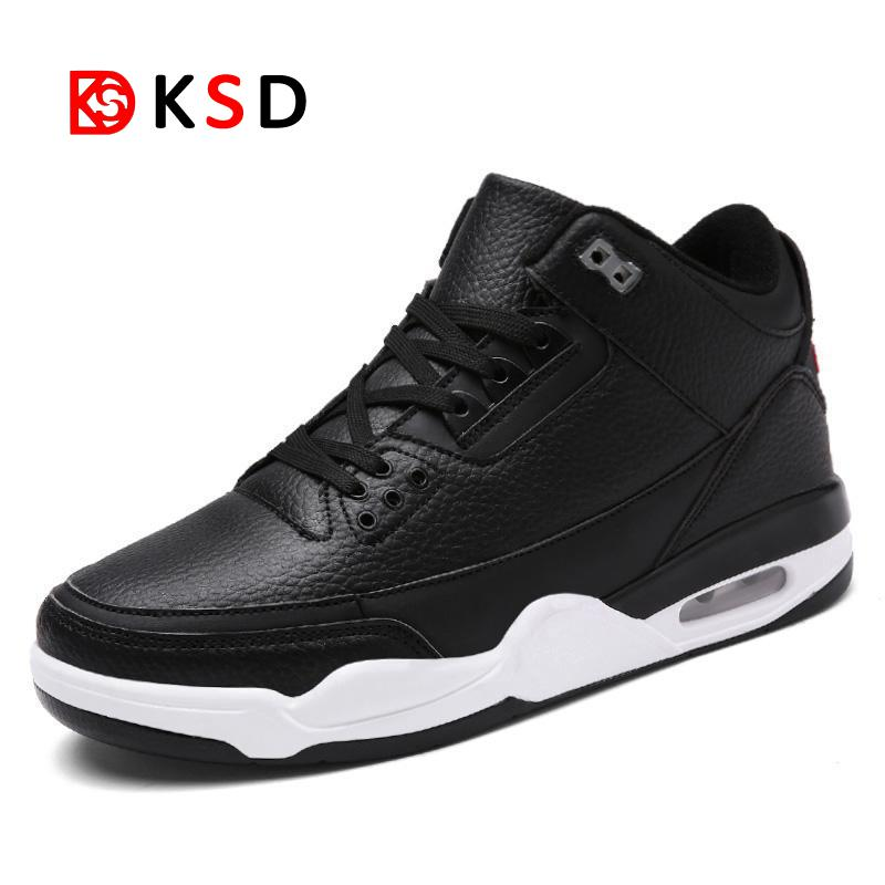 Baskets Homme 2018 Men Basketball Shoes Comfortable Men Shoes Outdoor Flat Air Cushion Sport Shoes Mens Trainers Zapatillas