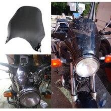 Экран для ветрового стекла мотоцикла для Yamaha XJR 400 1200 1300 XJR400 XJR1200 XJR1300 темно-серый прозрачный