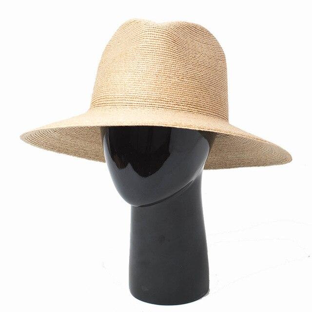Panama Hat Women Raffia Straw Hats 2018 New Fashion Safari Fedora for  Summer Vacation Holiday Top Quality 681082 518b0e07595
