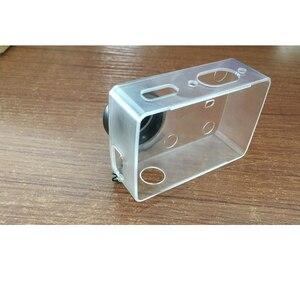 Image 4 - Chống Thấm Nước Bảo Vệ Vỏ Trong Suốt Siêu Mỏng Ốp Lưng Có Nắp Ống Kính Dành Cho Xiaomi Yi 4K Camera Hành Động 2 II Phụ Kiện