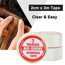 Wholesale super hair tape double-sided adhesive tape for hair extension/lace wig/toupee and PU tape hair weft 2pcs/lot(China)