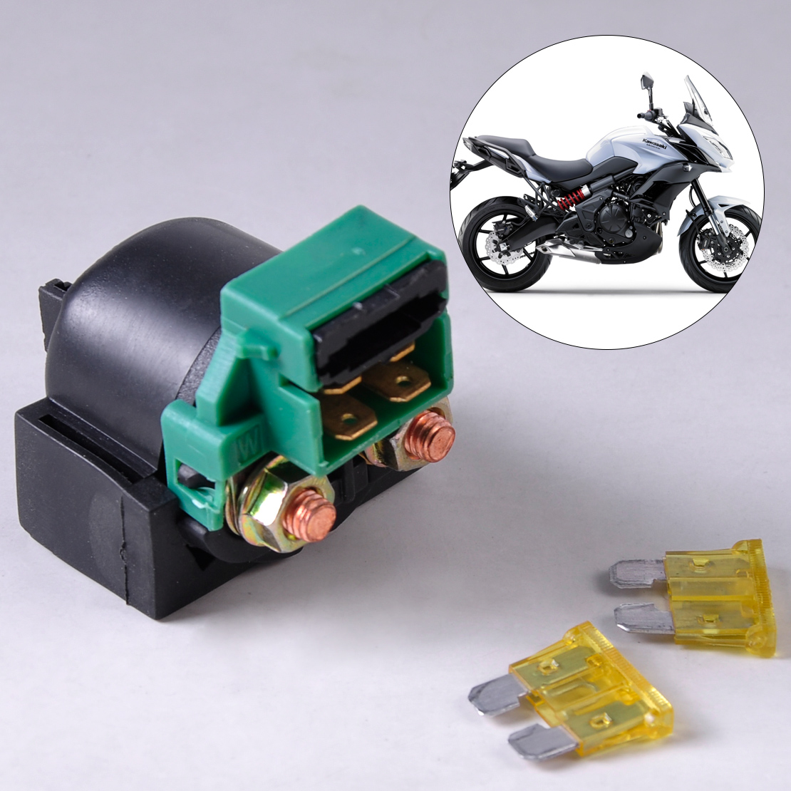 citall 12v dc motorcycle starter relay solenoid for. Black Bedroom Furniture Sets. Home Design Ideas