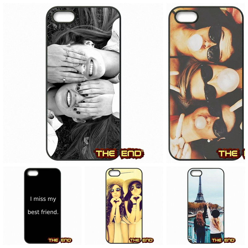 For Samsung Galaxy Grand prime E5 E7 Alpha Core prime ACE 2 3 4 Happy Best Friend Card BFF Mobile Phone Cases Covers