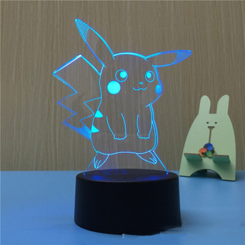 External tattoos USB Touch Opening Small Tub Lights Kids Family People Skin Kaku LEDs Creative Night Light 3D Lamp
