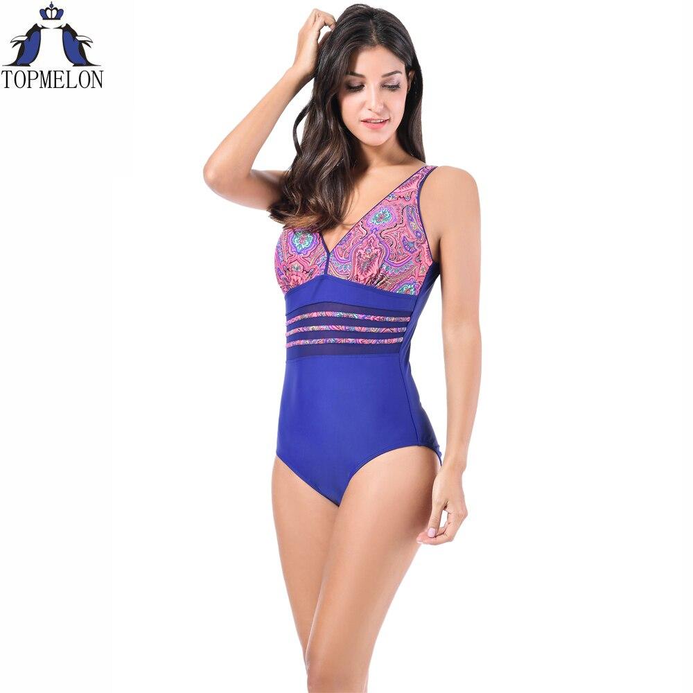 Plus la taille maillot de bain une pièce maillot de Bain Femme départ plage Grande Taille maillot de bain monokini Beachwear Maillots de Bain