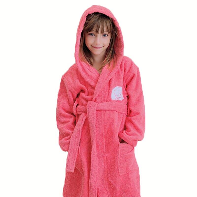 Детский банный халат, Детские Банные халаты для мальчиков и девочек, пижама, флисовое полотенце с капюшоном, пляжная одежда для сна, детская