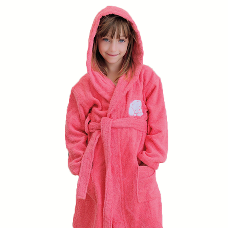 Baby Bath Robe Kids Bathrobes For Boys Girls Pyjamas Towel Fleece Hooded Bebe Beach Sleepwear Children Clothes Winter Summer