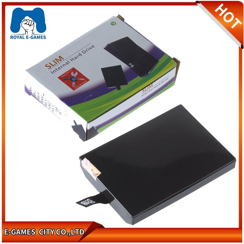 500GB HDD Harddisk Hard Disk Drive For Microsoft Xbox 360 S Slim Internal 320GB 250GB 60GB 120GB HDD Hard Drive For Xbox360 Slim