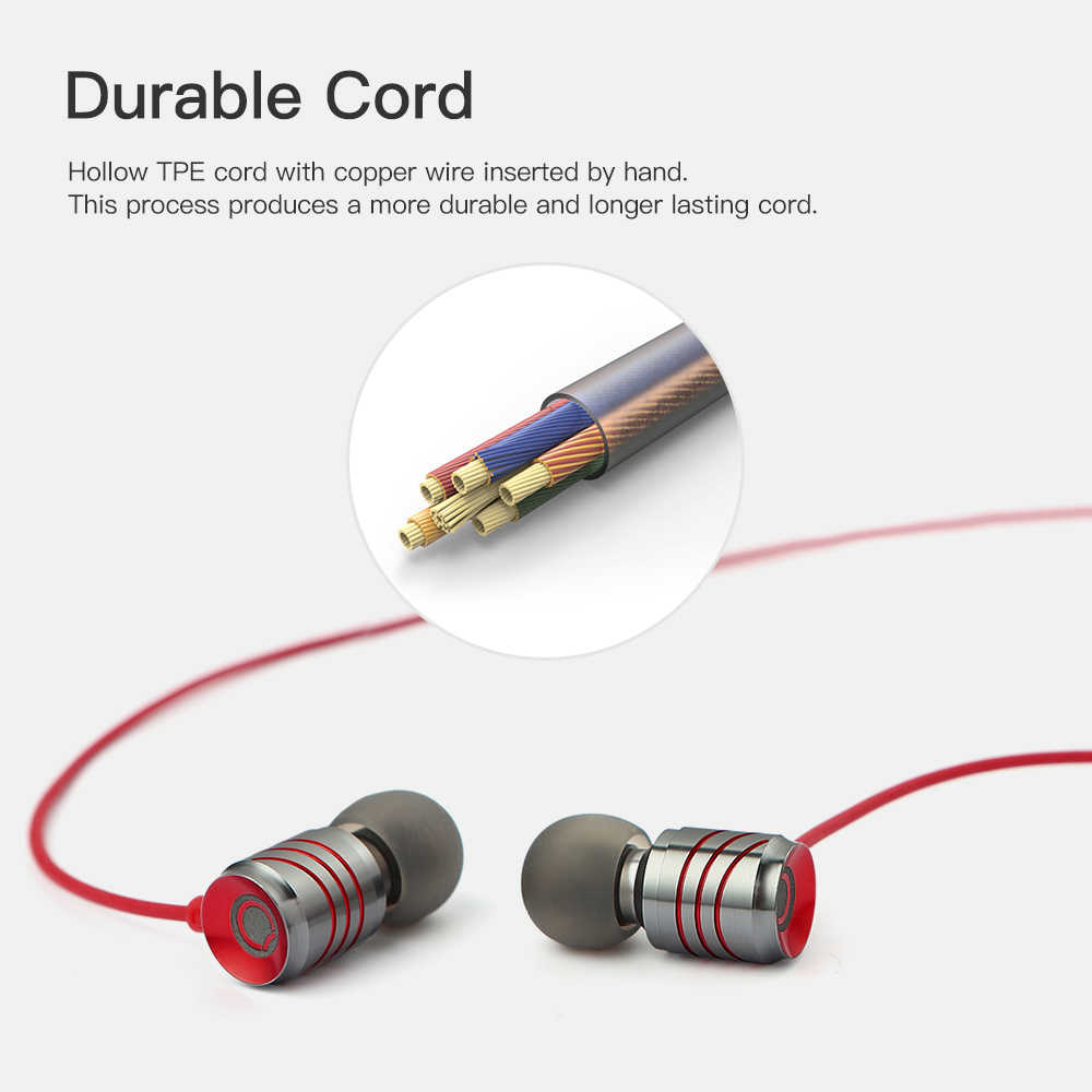 GGMM C800 słuchawka z mikrofonem do telefonu słuchawki hi-fi fone de ouvido słuchawki douszne słuchawki douszne do iphone 7 8 X Android