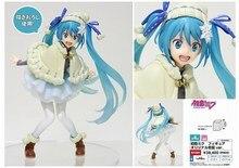 Hatsune Miku Snow Miku 1/8 scale painted figure Snowsuit Ver. Miku Doll PVC Action Figure Collectible Model Toy 15cm KT3939