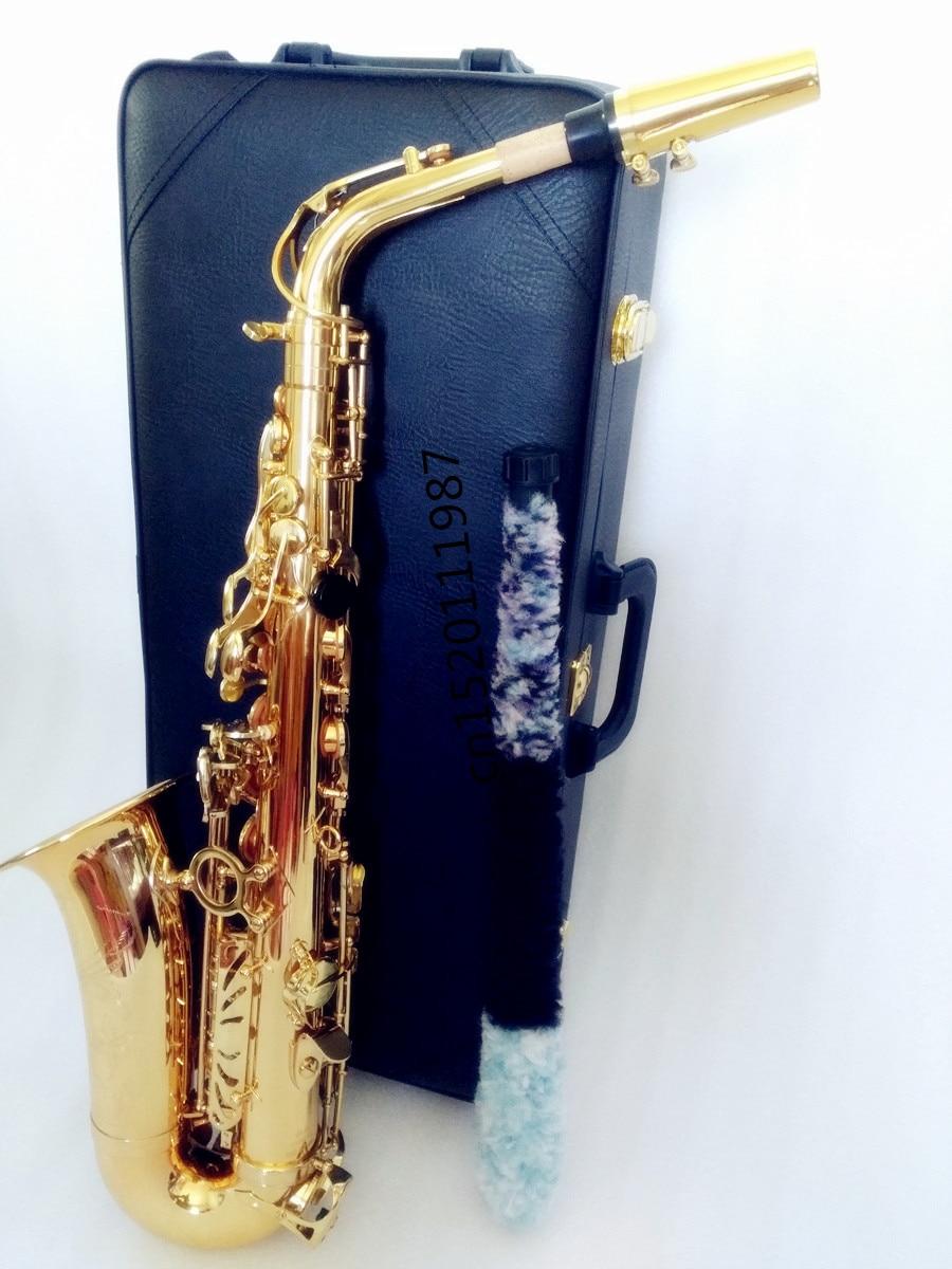 Professional E Flat Alto Saxophone France Henri Selmer Alto Saxophone 802 E Flat Musical Instruments & Hard boxs Free shipment dhl ups free professional saxophone e flat sax alto france henri selmer alto saxophone 802 saxfone top musical instruments