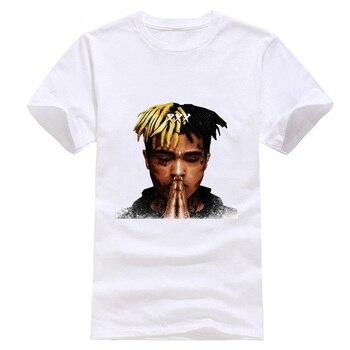 Ment camisa verano estilo camiseta XXX Tentacion Maglietta Idea Regalo  Maglia Rapper Hip Hop Rap trampa 8896eea7b5f