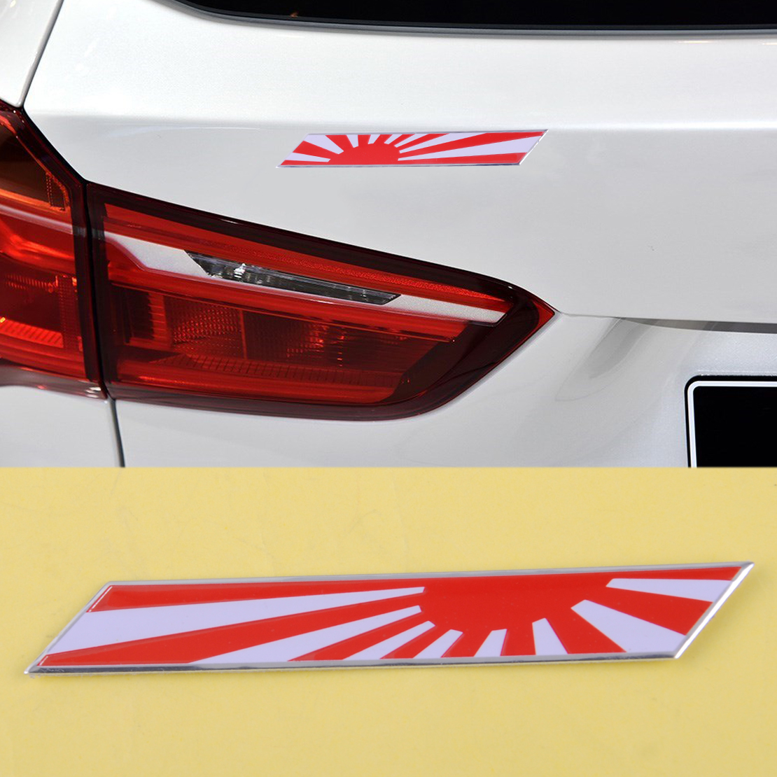 Aliexpress.com : Buy DWCX Car ABS JDM Japan Rising Sun ...
