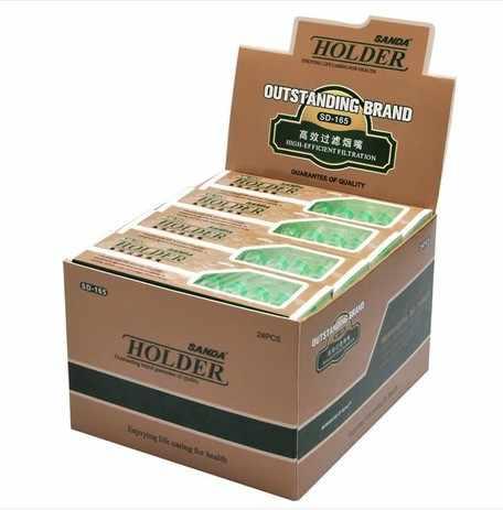 SANDA مرشحات السجائر الصغيرة-حامل سيجار حزمة الاقتصاد السائبة (240 لكل حزمة) أداة رجالية sd165