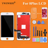 YWEWBJH 1PCS Test AAA LCD Screen For iPhone 8Plus LCD Display with 3D Touch Screen Digitizer Assembly Replacement Repair Part