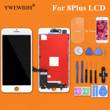 YWEWBJH 1PCS Test AAA LCD Screen For iPhone 8Plus Display with 3D Touch Digitizer Assembly Replacement  Repair Part