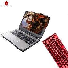 """Thunderobot 911-S5Ta Игровые ноутбуки GTX1050Ti i7-7700HQ 15.6 """"IPS 1080 P 128 ГБ SSD 8 ГБ Оперативная память 1 ТБ HDD Подсветка Клавиатура IPS ноутбука"""