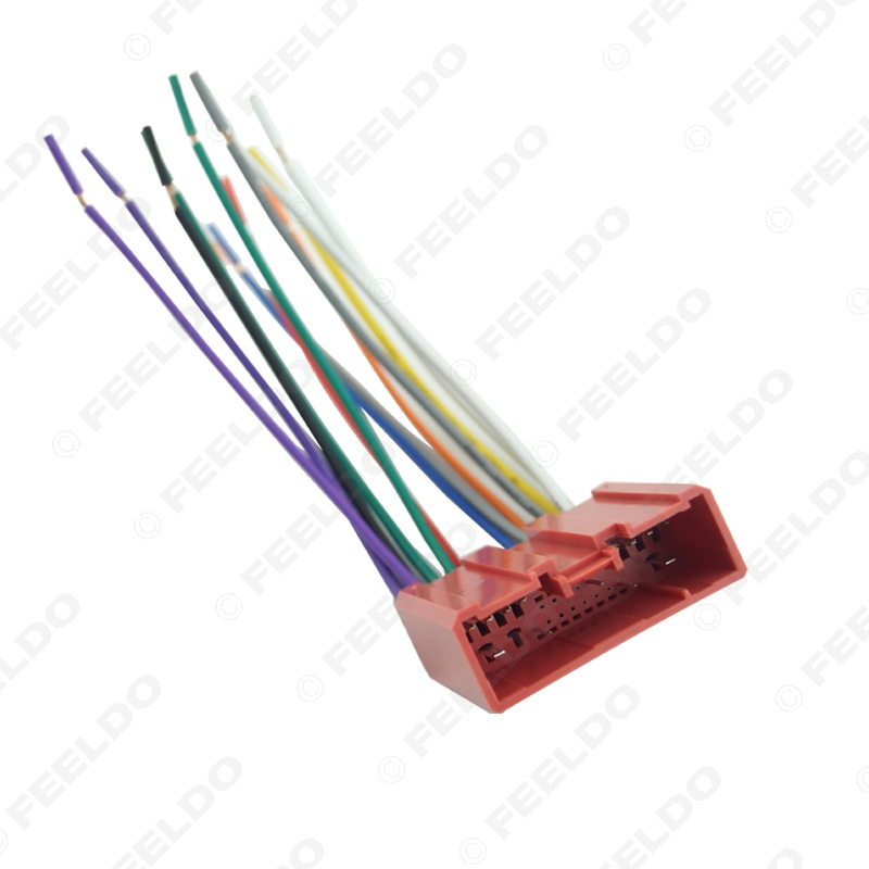 Aftermarket HU Install Parts LO2010 additionally 111481699157 besides China Car Wiring Harness Cable in addition 2000 Chevy S10 Radio Wiring Adapter also By car. on this car stereo wiring harness plugs into oem factory radio