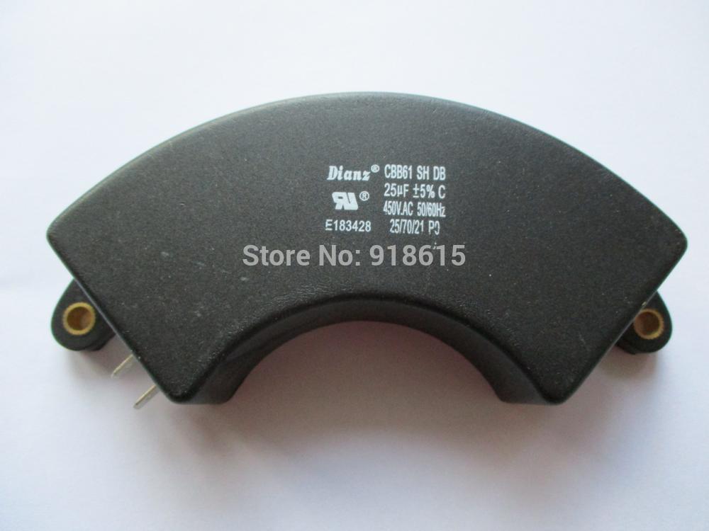 cbb61 25 450vac uf capacitor pecas do gerador da gasolina