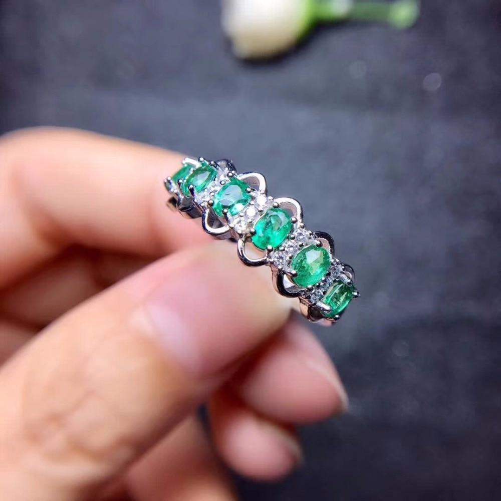 HTB1JohIa0fvK1RjSszhq6AcGFXav - Uloveido Green Emerald Ring Flower Rings, Silver 925 Ring