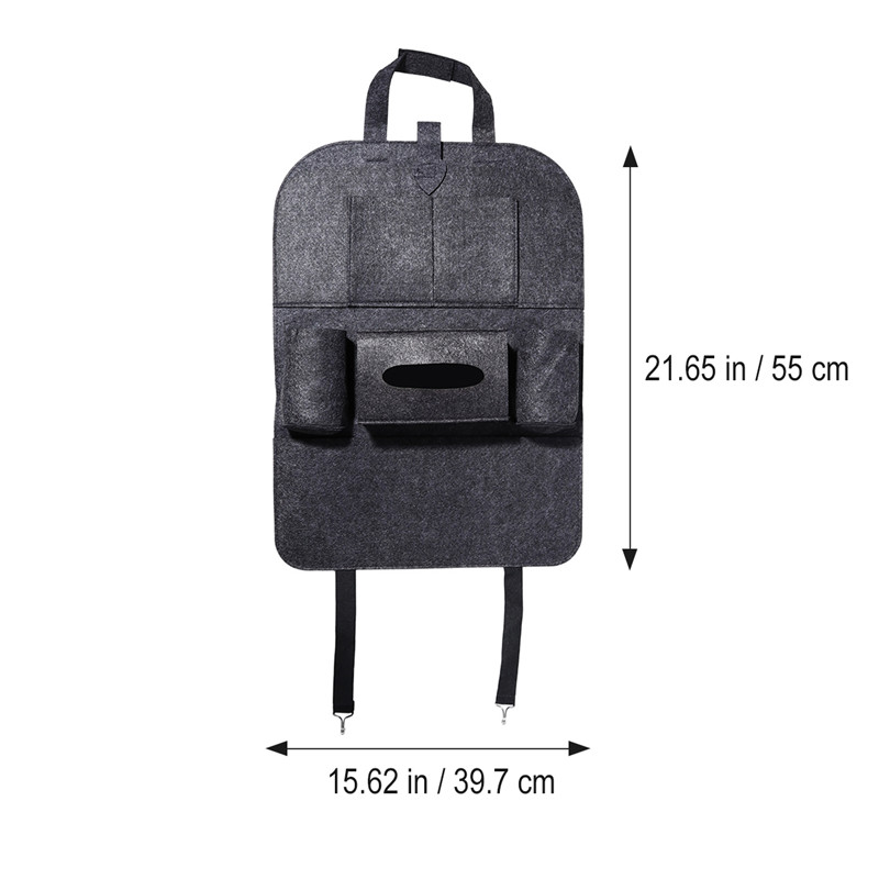 1PC Car Storage Bag Universal Box Back Seat Bag Organizer Backseat Holder Pockets Car-styling Protector Auto Accessories For kid