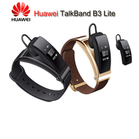 Genuine Huawei Talk Band B3 Bluetooth Smart Bracelet Fitness Wearable Sports Compatible Smart Mobile Phone Device Wristbands