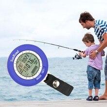 Buy online IPX 4 waterproof Fishing Barometer Multi-function LCD Digital Outdoor Fishing Barometer Altimeter Thermometer Timer Weather