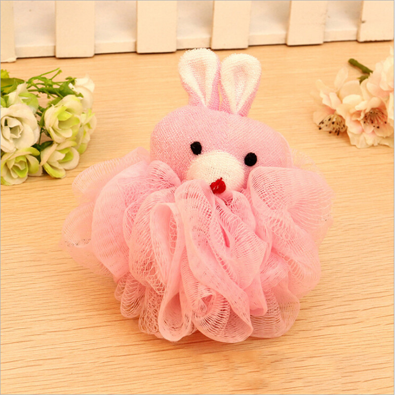 Child Shower Bath Product Bath Care Ball-shape Infant Shower Sponge Cotton Rubbing Body Wash Towel Brand Newborn Baby Bath Brush