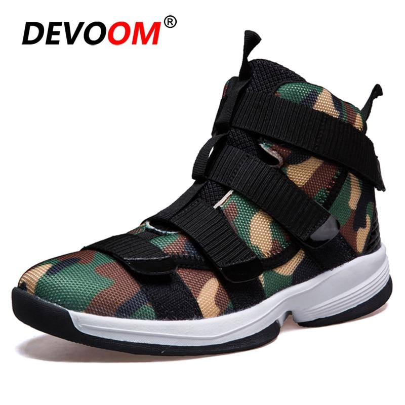 f3d2deef De los hombres de la moda Zapatos casuales 2019 nuevos zapatos para Hombre  Zapatos de alta arriba zapatillas de deporte hombres camuflaje lona para  Hombre ...