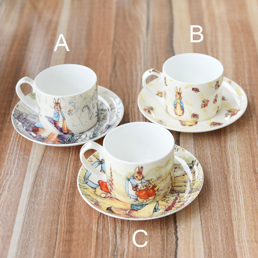 High Quality Bone China Coffee Cup And Saucer English ...