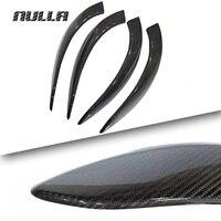 NULLA Carbon Fiber For BMW 3 Series New F30 F34 F31 F32 320i 316i 328i 420i 2012 2013 2016 Interior Door Handle Armrest Sticker