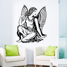 Wall Decal Beautiful Classic Angel Vinyl Sticker Home Interior Design Removable Lady Wallpaper Decor Art AY1041