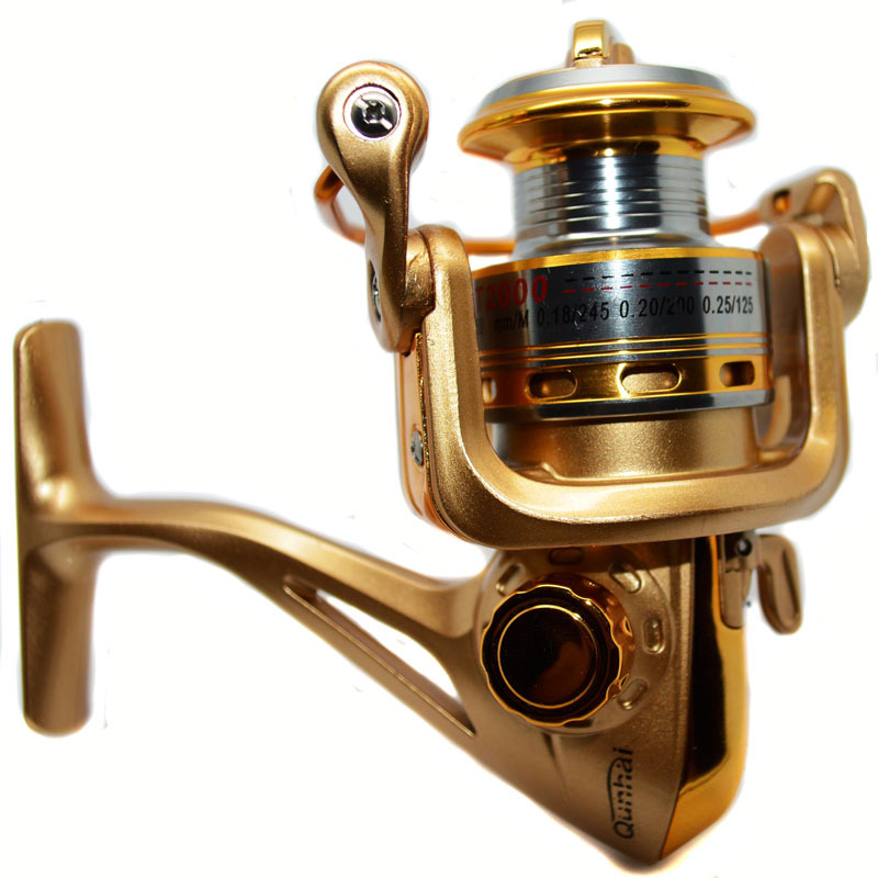 HOT !!new brand GT2000 Aluminum ice reel Feeder fishing ...