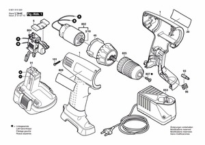 Image 4 - DC Motor 12 teeth replace for BOSCH cordless Drill Screwdriver GSR 7.2V 9.6V 12V 14.4V 16.8V 18V 21V accessories Spare Parts