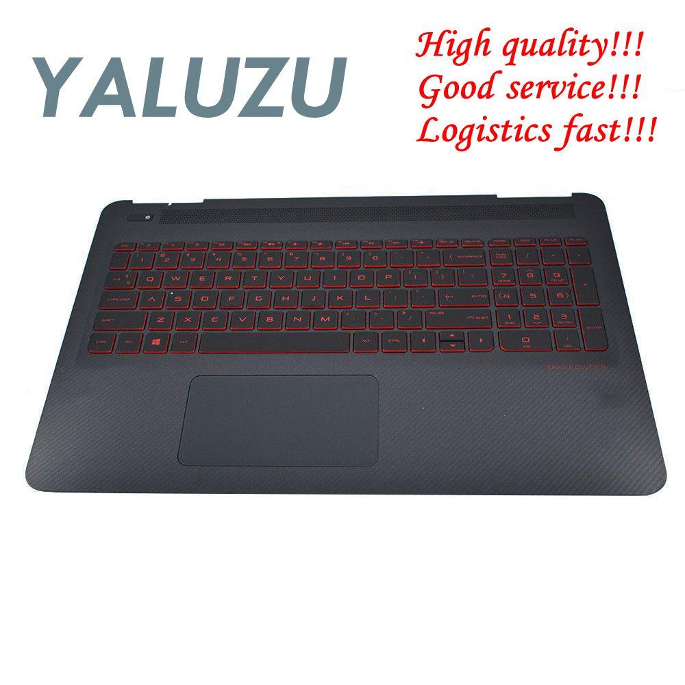 YALUZU new For HP Omen 15 AX 15 AX020CA 15 AX100 15 AX200 Palmrest Case upper