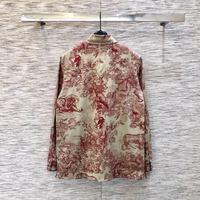 L01166 женские модные блузки и рубашки для мальчиков 2019 взлетно посадочной полосы Элитный бренд Европейский дизайн вечерние стиль