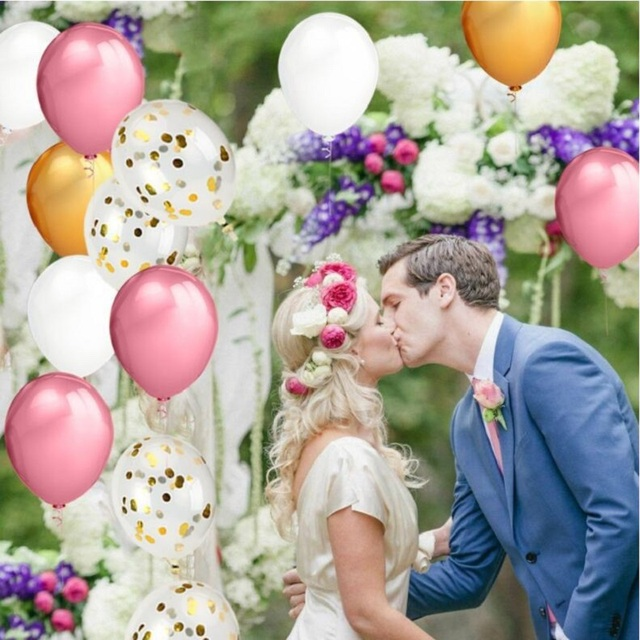 40 Pcs Pearl Balloons Champagne Gold Ballons Rose For Wedding Decoration Balloon Birthday Bouquet
